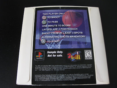 NBA 2 Ball Playstation Back Cover