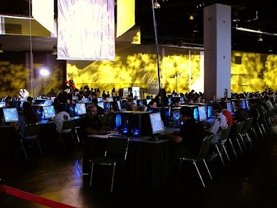 BlizzCon PC LAN Setup