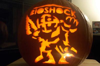Bioshock Pumpkin
