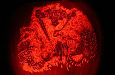 Best Video Game Pumpkins & Jack-O-Lanterns