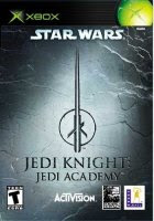 Star Wars Jedi Knight Academy Xbox Cover Art