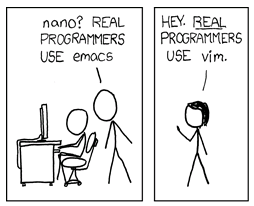 mommy bytes: vi Rocks! And so does xkcd!