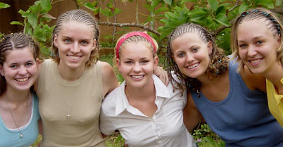 White girls in ghana