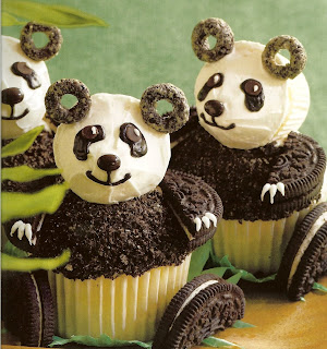 Frosting by christy teddy bear assembly line for Panda bear cake template