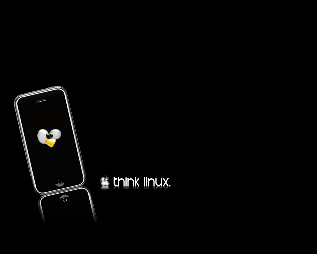 think linux wallpaper - photo #8
