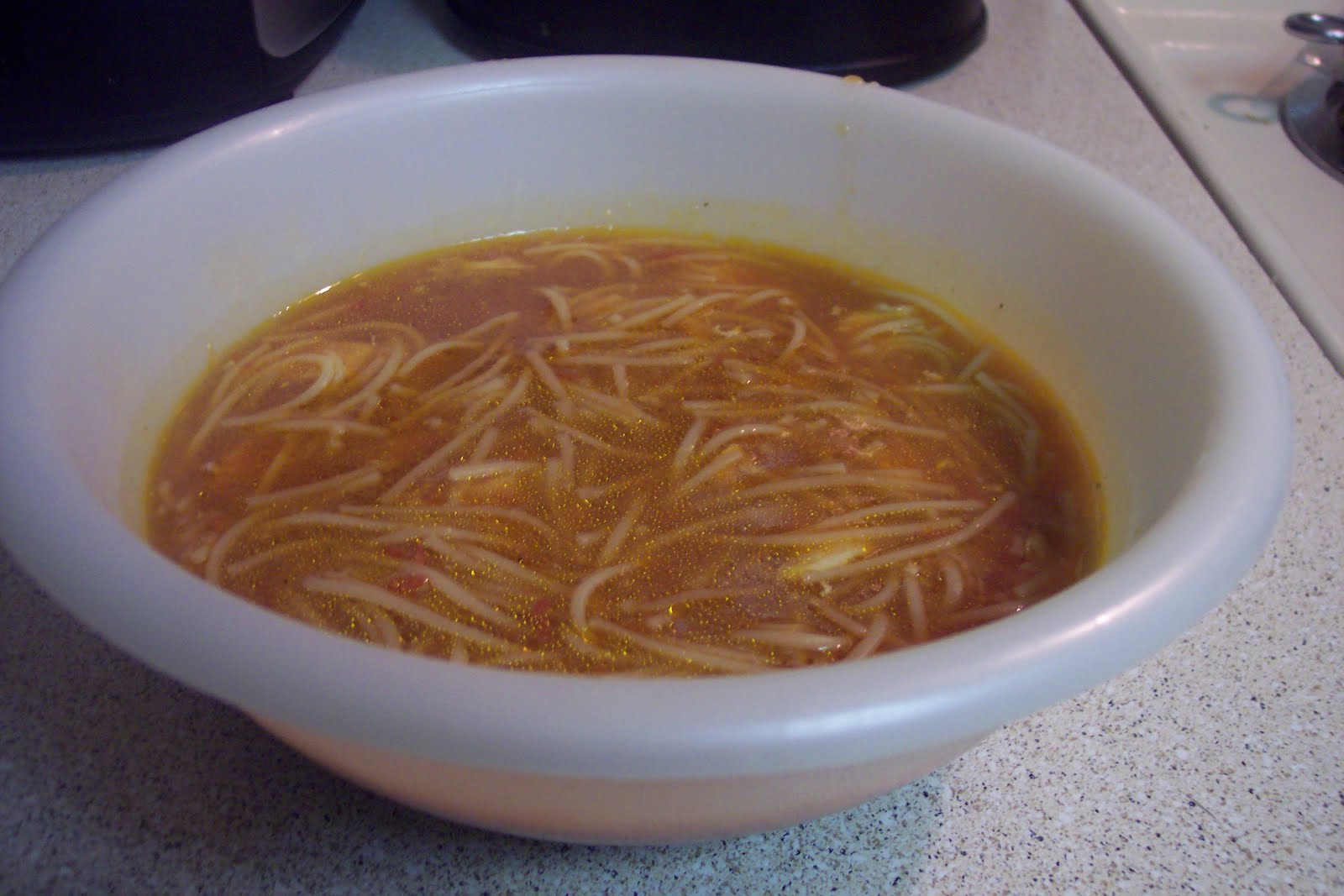 The Nightly Menu Sopa De Fideo