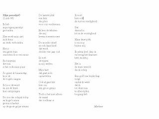 De Blauwe Uil Mijn Paradijs Klik Op Gedicht