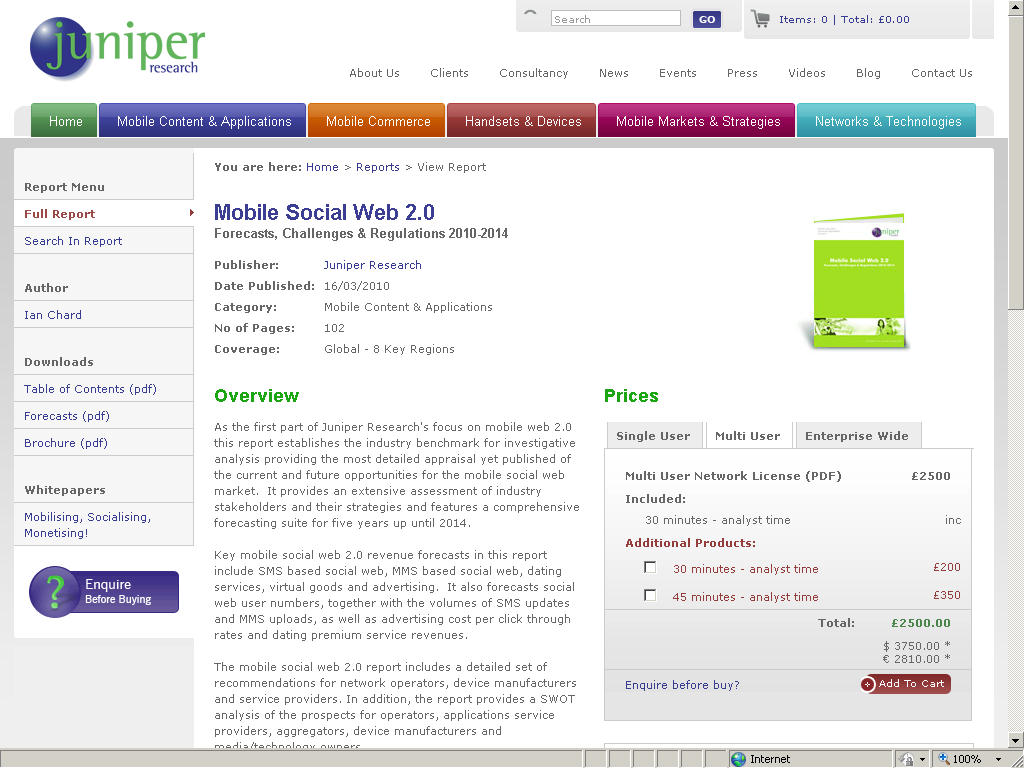 Juniper research online dating