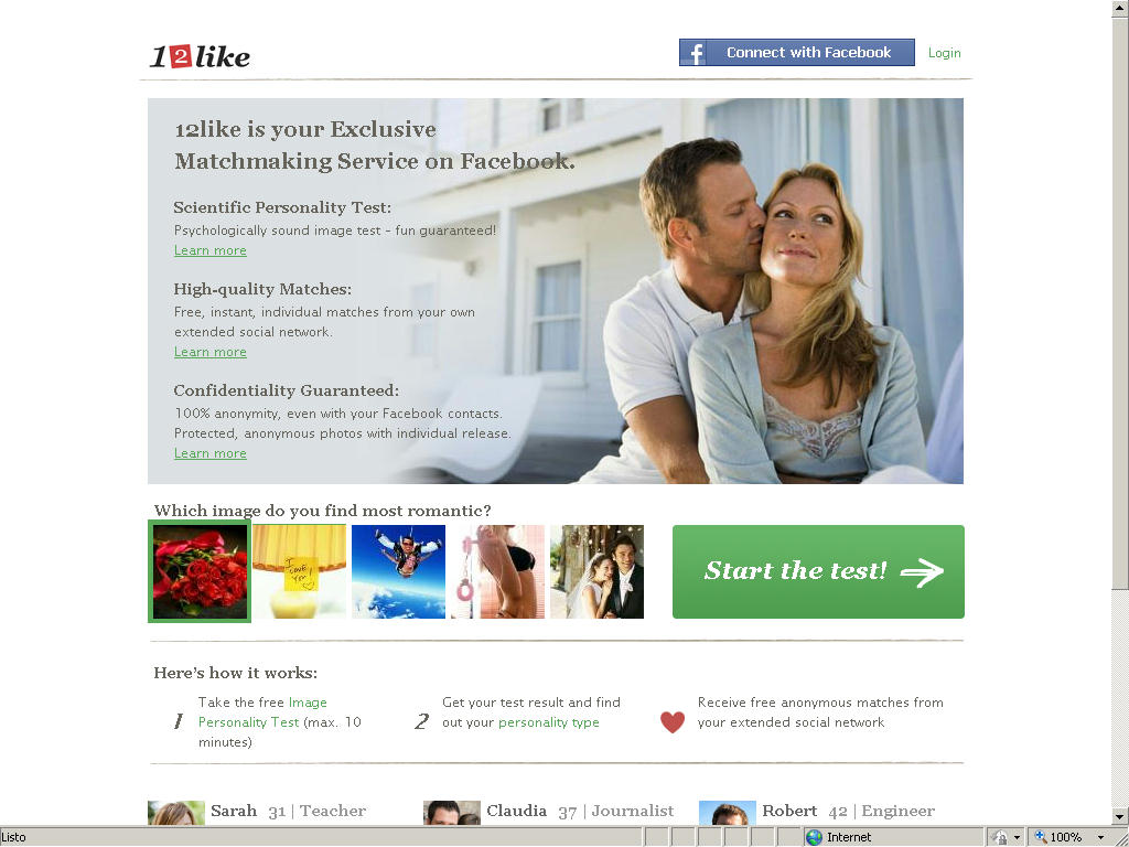 dating site dna matching