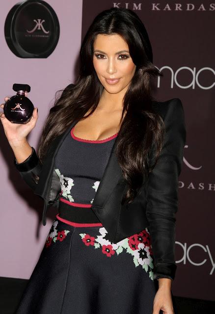 Kim Kardashian - KK Fragrance Presentation in New York