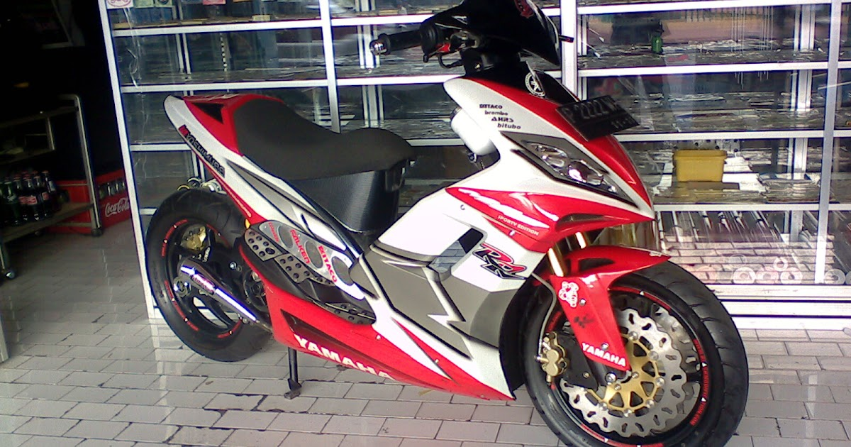 Mio 2005 Racing Look Modifikasi MIO kelas KONTES  Oto Trendz