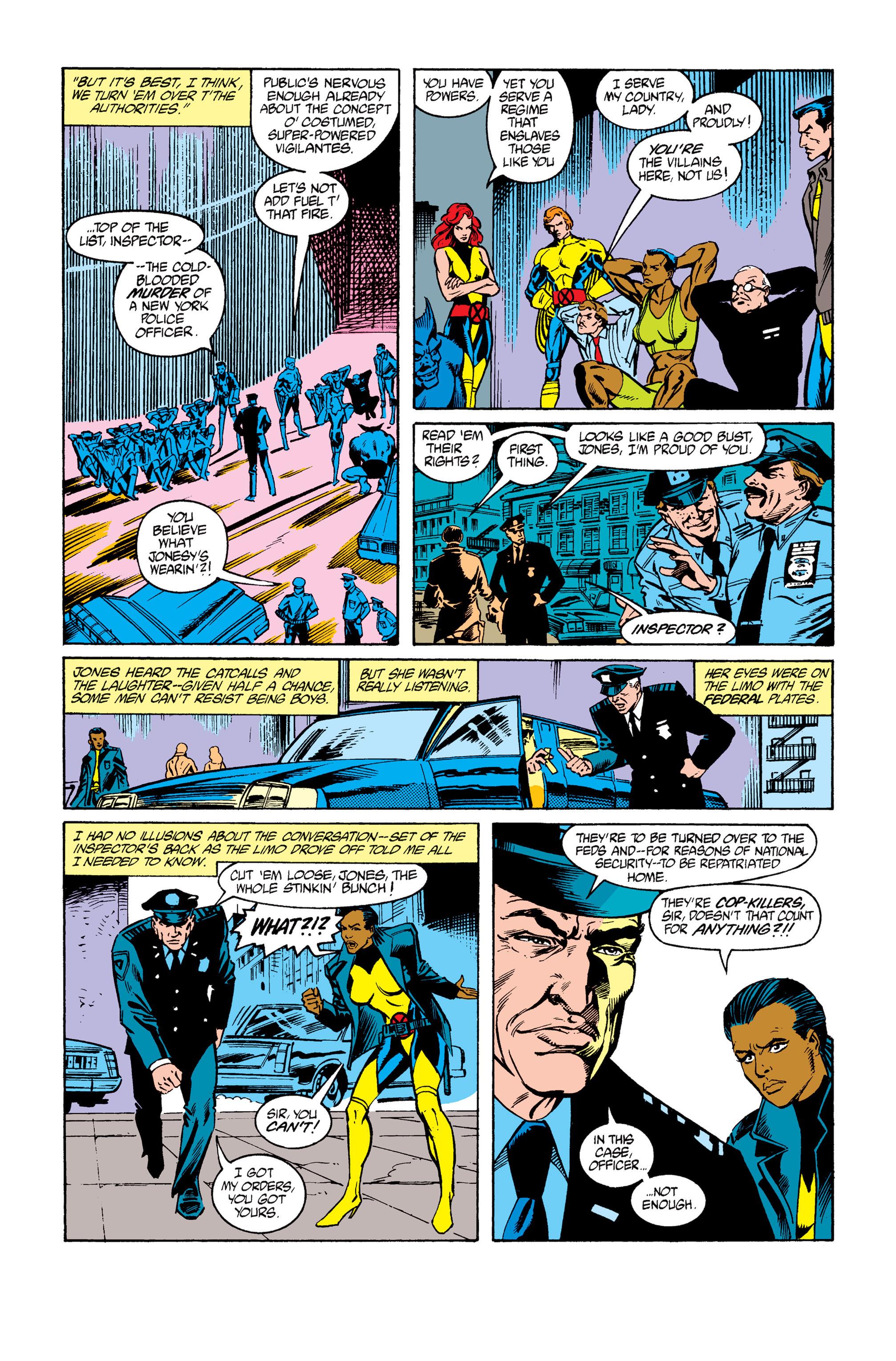 Read online Uncanny X-Men (1963) comic -  Issue #264 - 23