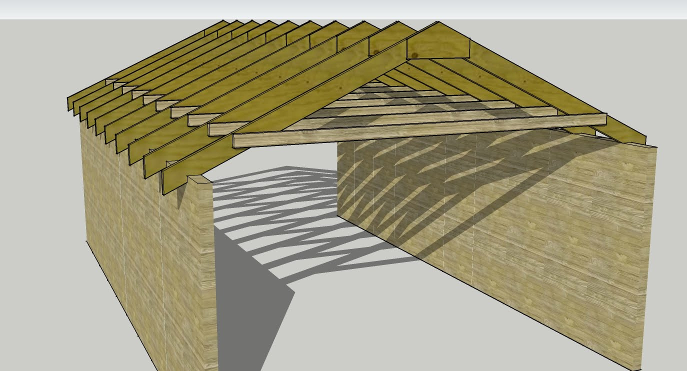 Modify Trusses To Raise Ceiling Height Golf Simulator Forum