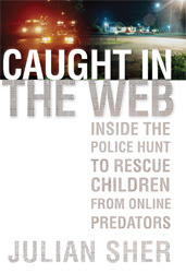 caught in the web book cover