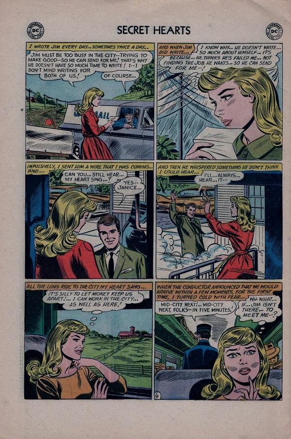 Read online Secret Hearts comic -  Issue #79 - 32