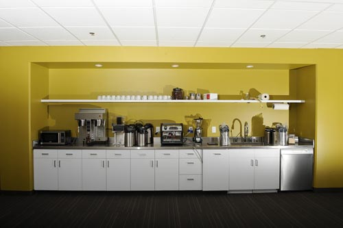 Minimalist Office Pantry Design