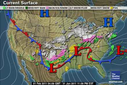 Today National Weather Map.Community Collaborative Rain Hail Snow Network Amazing National