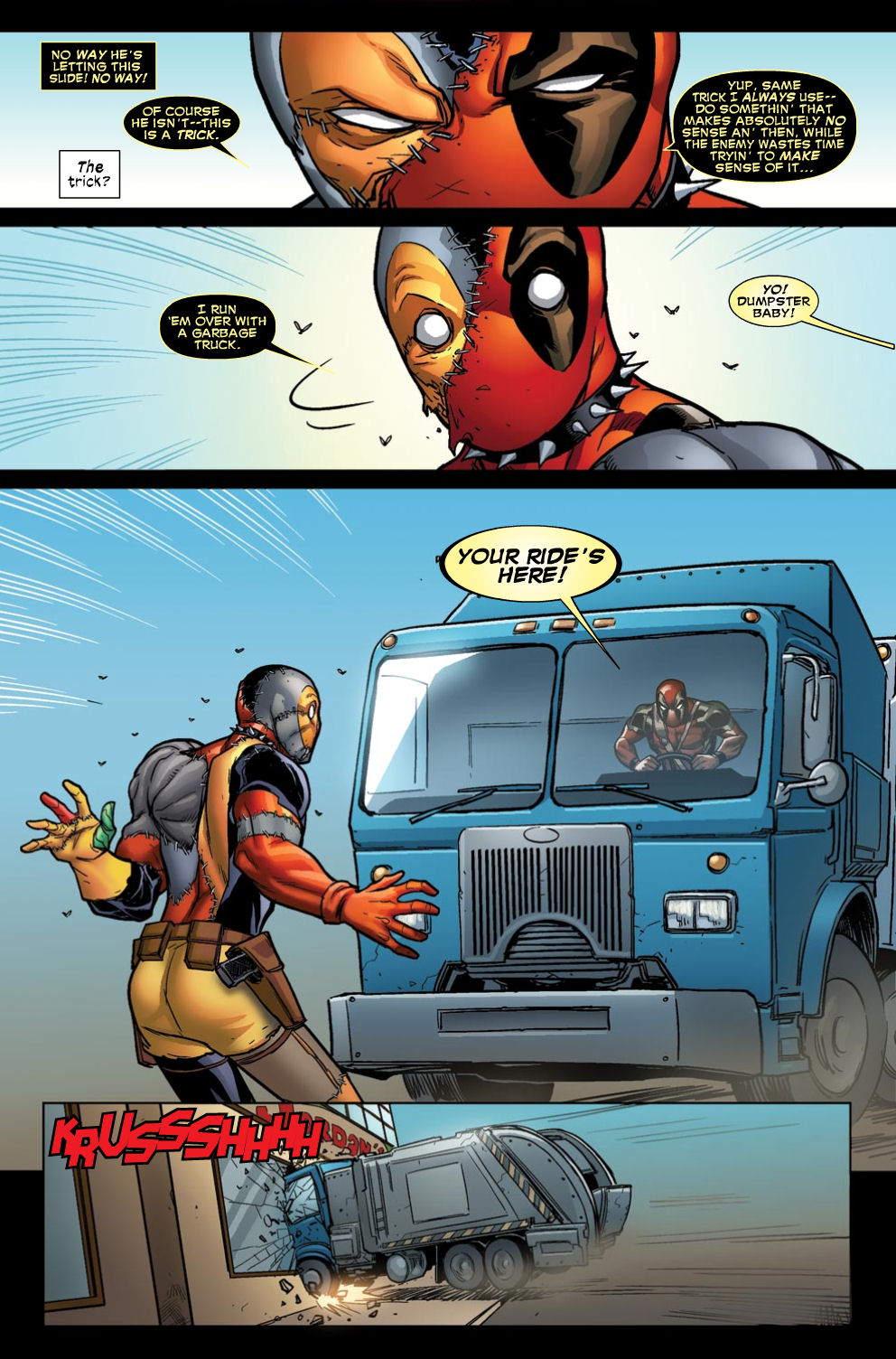 Read online Deadpool (2008) comic -  Issue #46 - 7