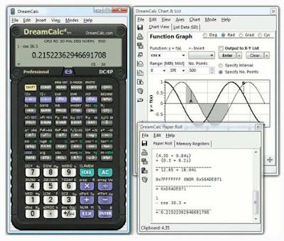 DreamCalc DCP v4 4 1 Pro Calculator Portable - Honeybytes