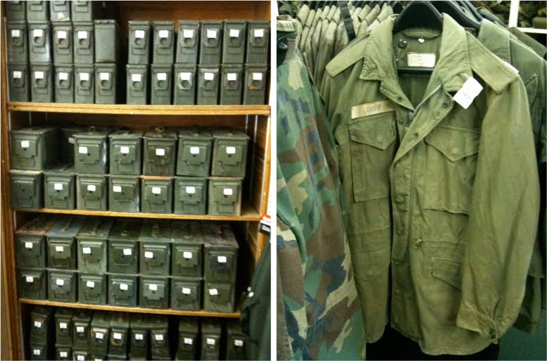 List of Synonyms and Antonyms of the Word: old military surplus