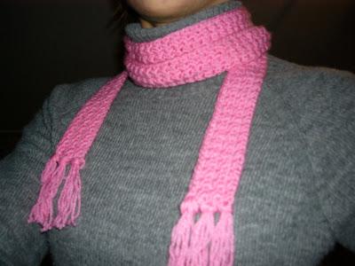 Yoghi911 Crochet Skinny Scarf Pattern Sciarpa Sottile Facile Da