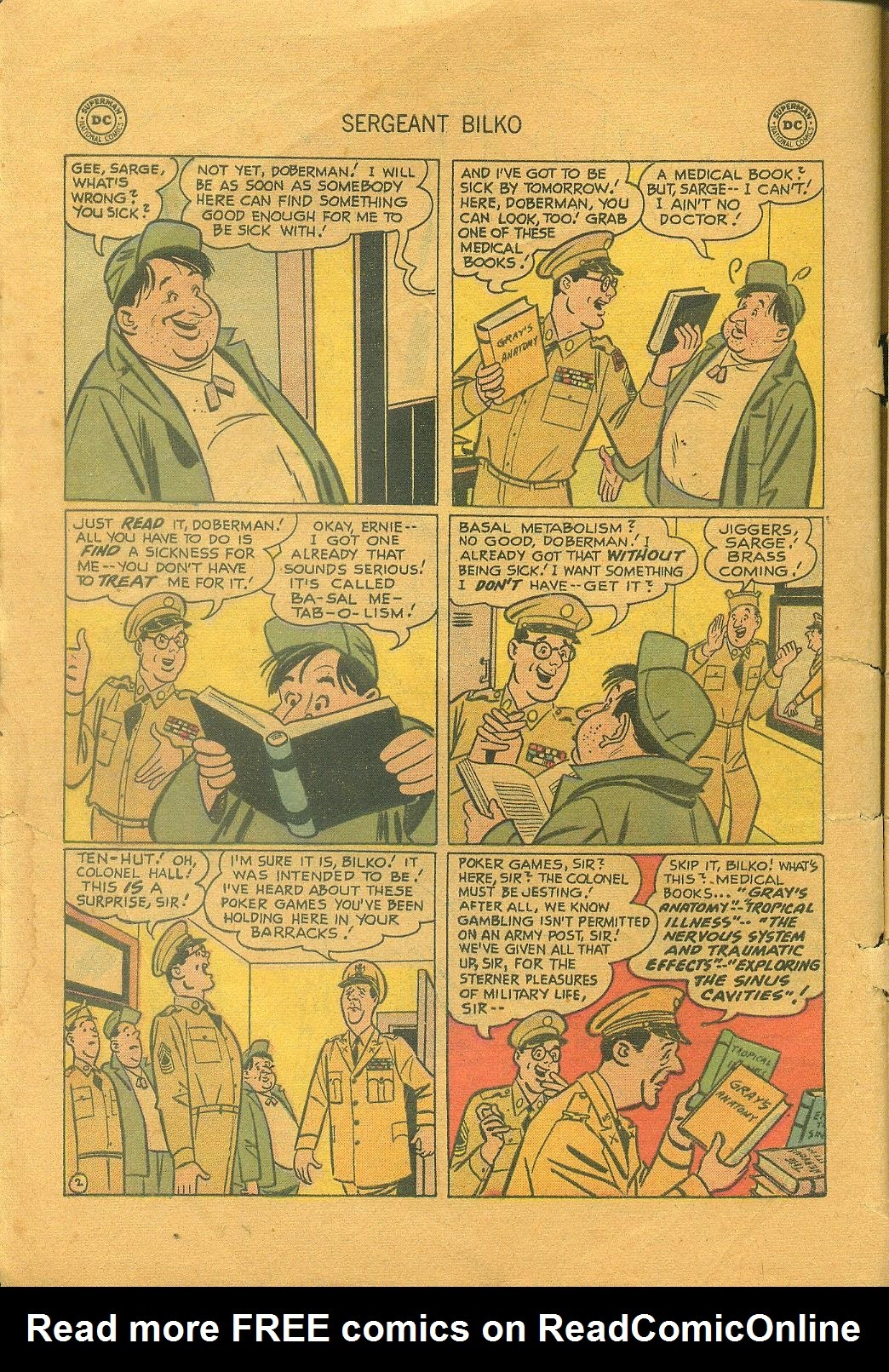 Sergeant Bilko issue 1 - Page 4