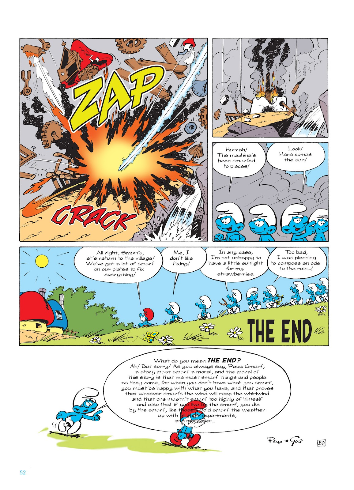 Read online The Smurfs comic -  Issue #14 - 53