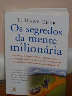 Livro Os segredos da mente milionária, T. Harv Eker