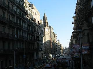 Caminhando pela cidade de Barcelona