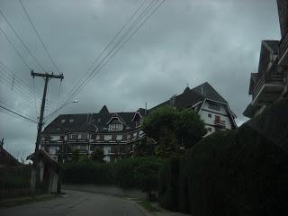 A construção em estilo europeu é uma das características