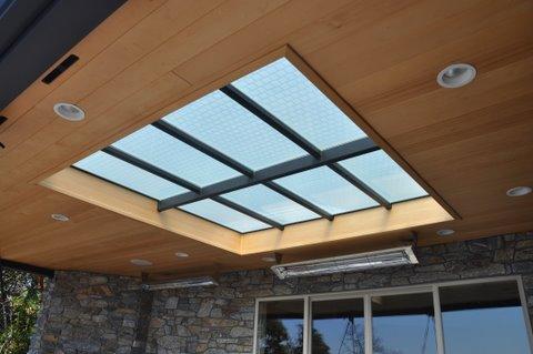 Seattle Glass Block Waterproof Glass Deck Skylight