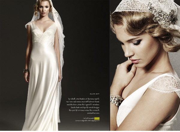 For whom the bells toll Beautiful 1930s inspired wedding dresses