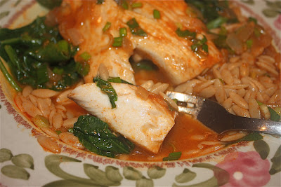 Thai-Style Mahi with Coconut-Curry Broth