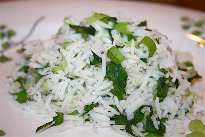 Cilantro Rice