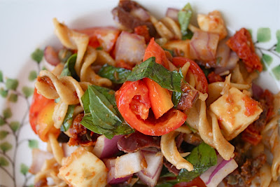 Ina Garten's Pasta with Sun-Dried Tomatoes