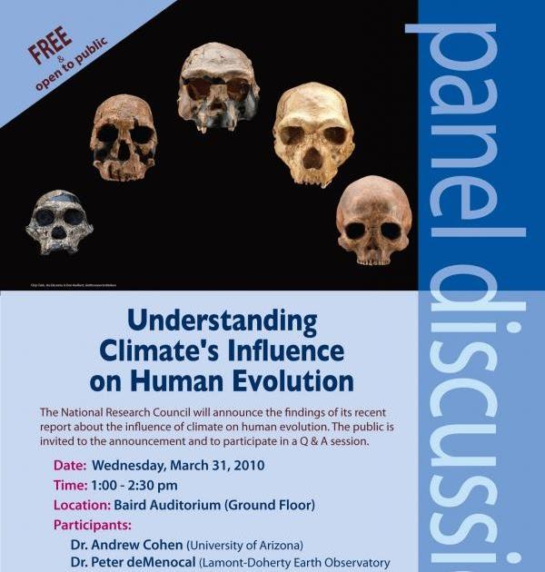 Climate and Human Evolution