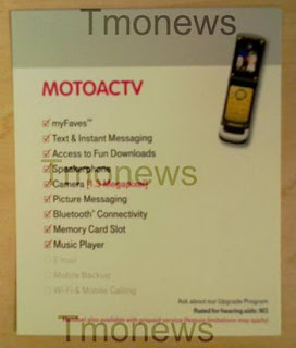 Yellow MOTOACTV W450 coming to T-Mobile?
