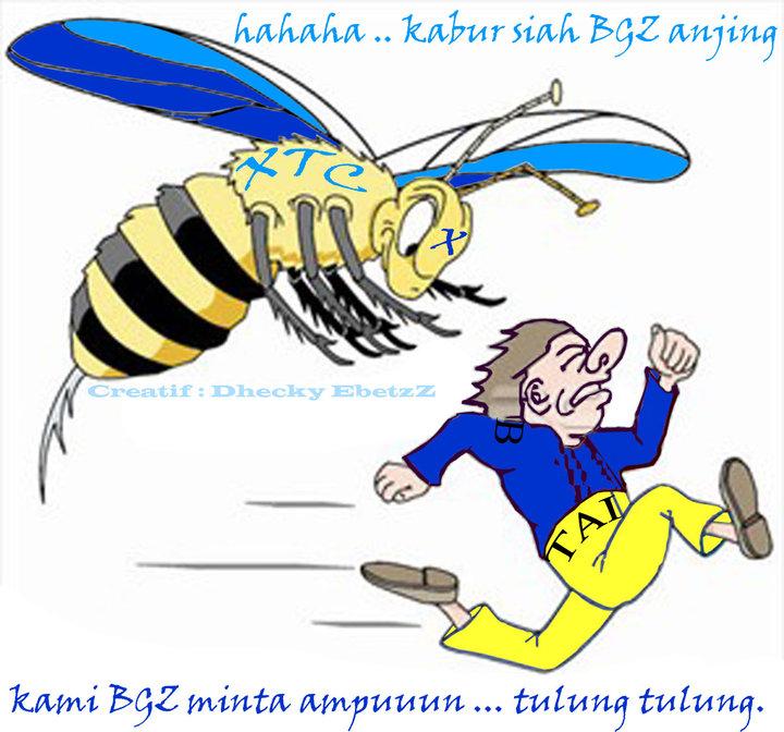 Gambar Lebah Xtc Keren