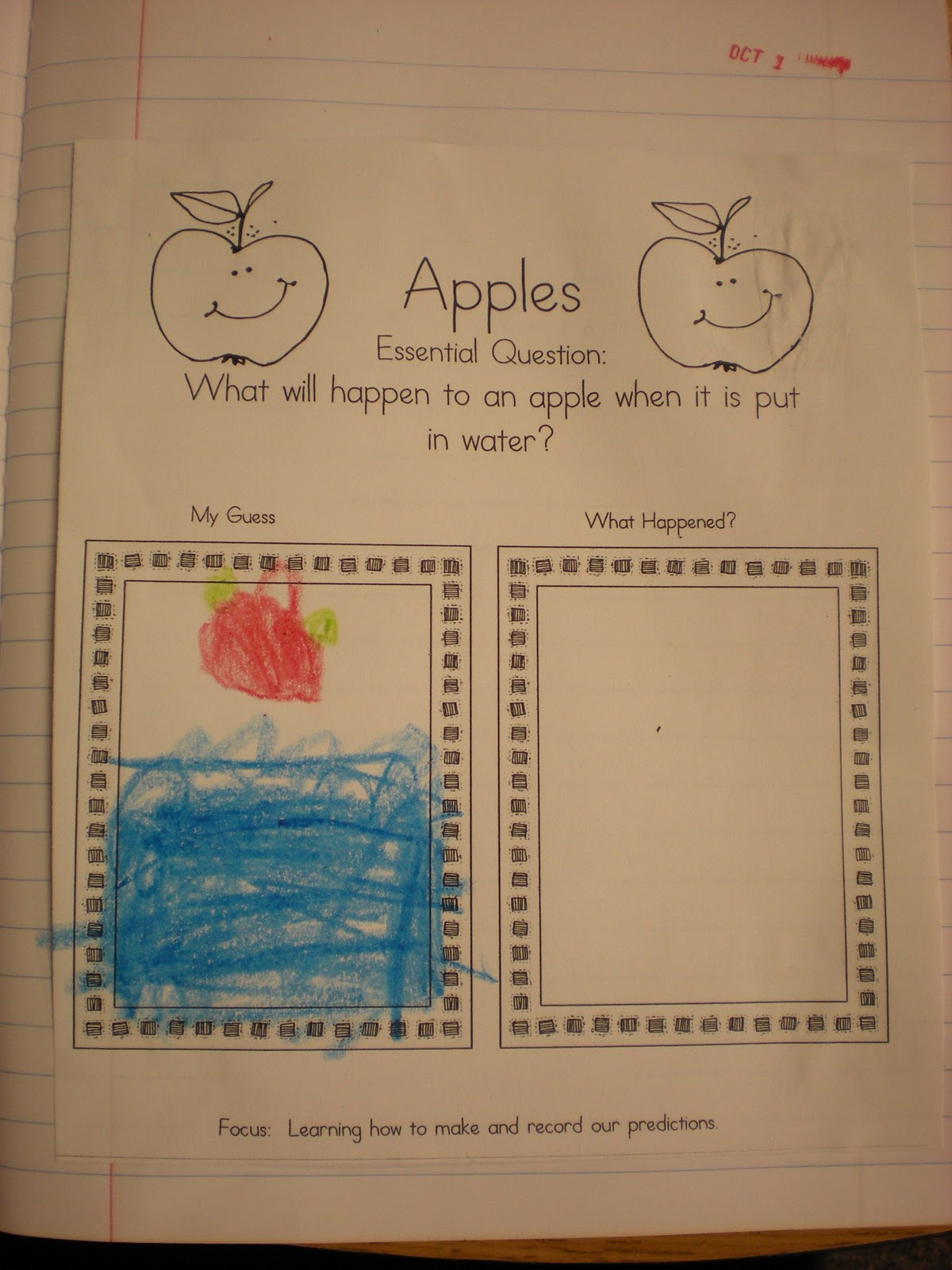 Growing Kinders Apple Licious
