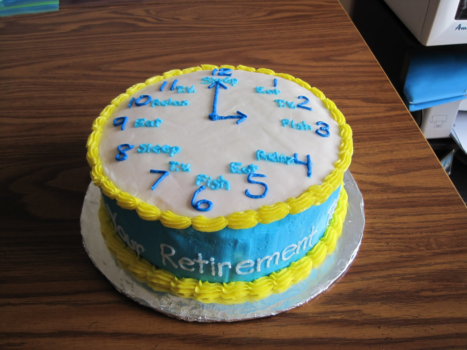 Retirement Cake Ideas And Designs