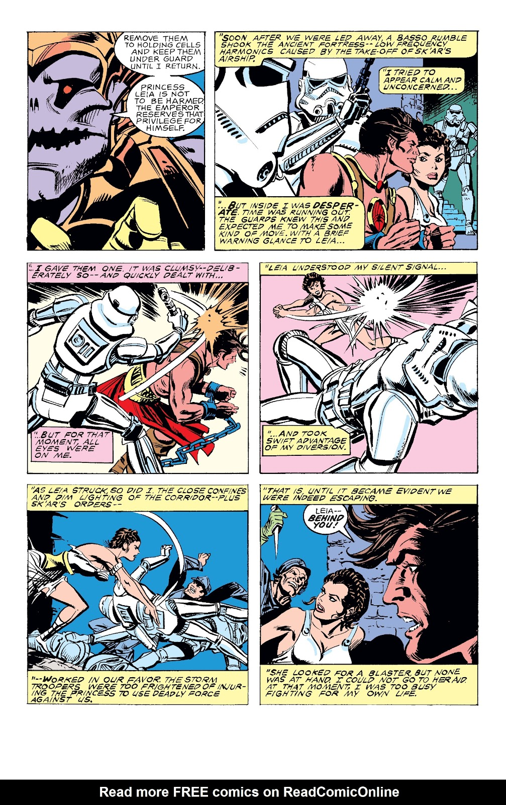 Read online Star Wars Legends: The Original Marvel Years - Epic Collection comic -  Issue # TPB 3 (Part 4) - 38