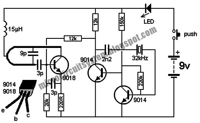 wireless doorbell circuit