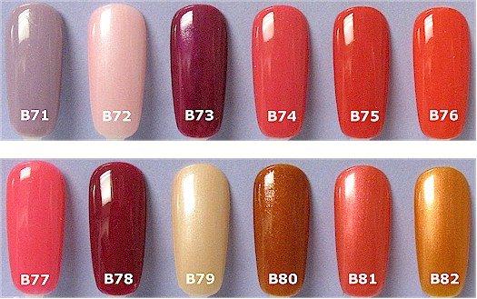Nail Polish Opi Color Chart