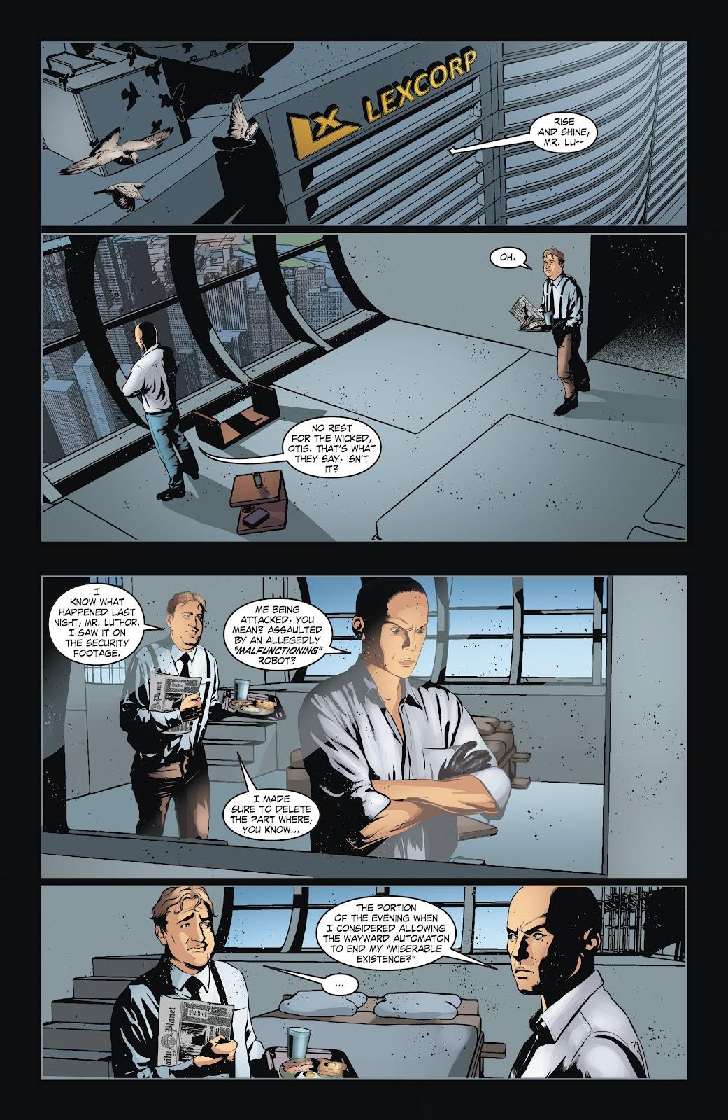 Read online Smallville Season 11 [II] comic -  Issue # TPB 6 - 44