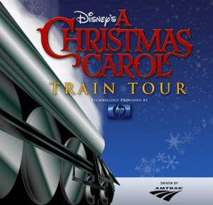 全部登上'Disney's A Christmas Carol' Train Tour