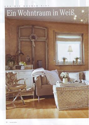 white living der bericht aus der romantisch wohnen. Black Bedroom Furniture Sets. Home Design Ideas
