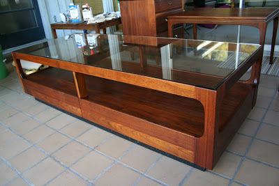 John Keal For Brown Saltman Coffee Table Danish End Tables