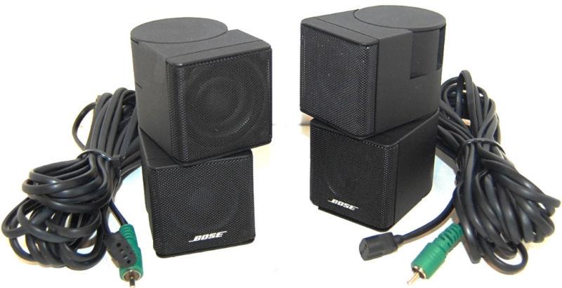 Rewind Audio  2 Bose Acoustimass Lifestyle Double Jewel