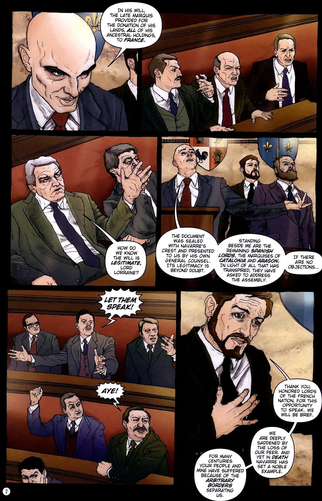 Read online Rex Mundi comic -  Issue #14 - 6