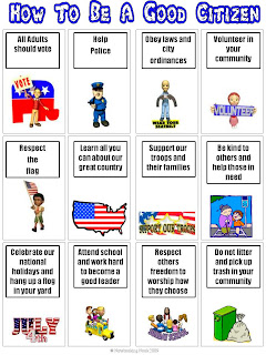 How To Be a Good Citizen - Webelos RequirementGood Citizenship Examples